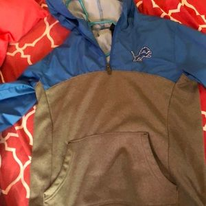 Boys Detroit Lions windbreaker